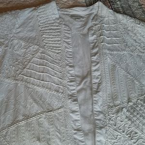 White Coldwater Creek Jacket